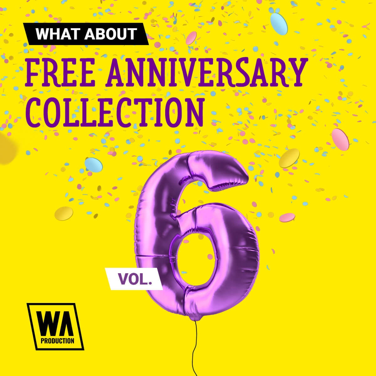 W. A. Production - Free Anniversary Collection Vol. 6 Artwork